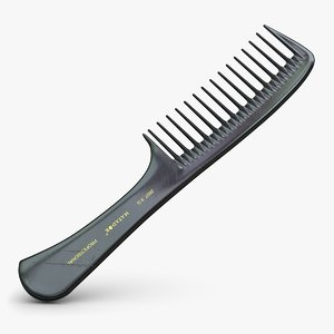 3d model hairbrush hair brush