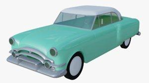 3D historical car model
