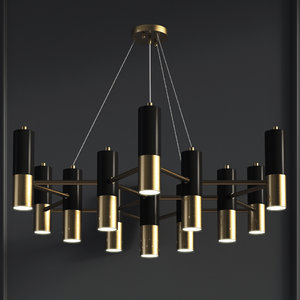 chandelier favorite 1600-13p ultra 3D model
