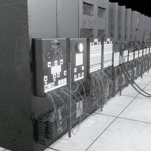 eniac computer 3D