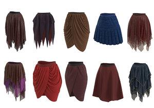 skirt real model