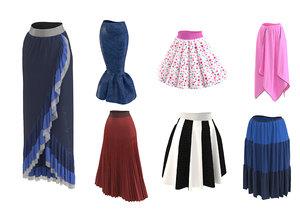 3D model skirt real