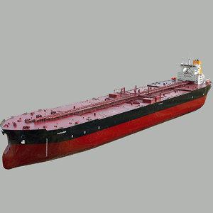 tanker ti class ship model