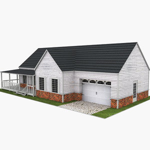 3D house neighborhood