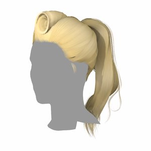 hairstyle classic 3D
