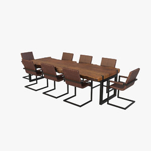 dining table v6 3D model