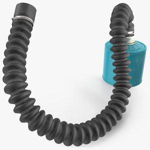 filter canister hose 3D model