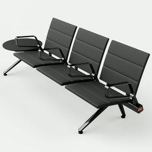 3D flair seating poltrona frau