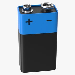 battery 9v 3D