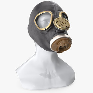 3D dummy toxic mask