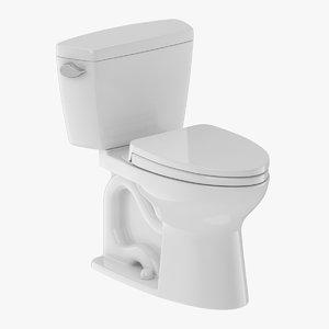 toto toilet piece 3D model