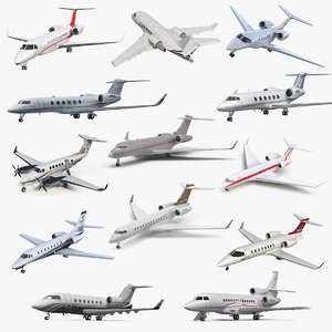 3D business jets 5