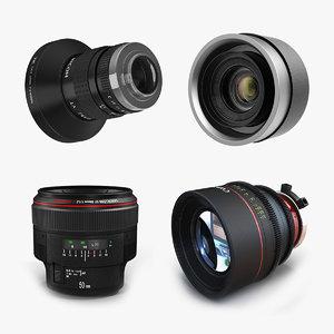 3D camera lenses 2 lens