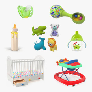 childcare products 4 child 3D model