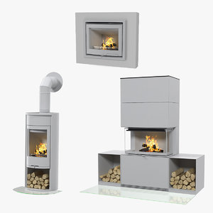 fireplaces 2 3D
