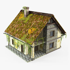 abandoned cottage 3D