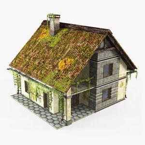 abandoned cottage 3D