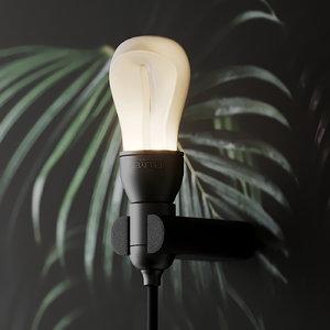 3D llot llov plumen lightbulb