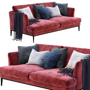 3D alivar sofa portofino