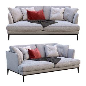 3D alivar sofa portofino model