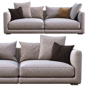 3D model poliform sofa bristol
