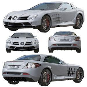 supercar mercedes slr mclaren model