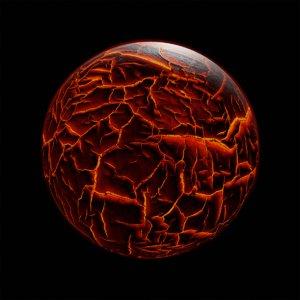 alien planet lava model