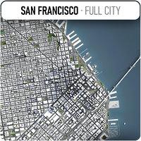 San Francisco - city and surroundings