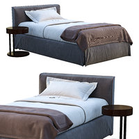Meridiani Single Bed LAW
