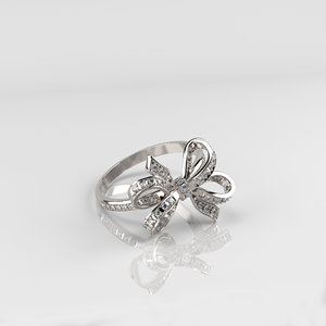 ribbon ring print model