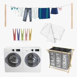 3D laundry 4 drying