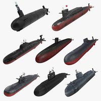 Military Submarine Collection 3