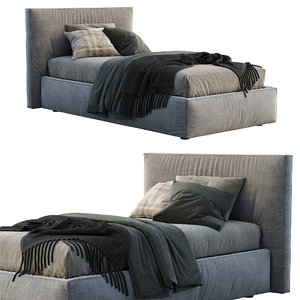 flexteam single bed miller 3D