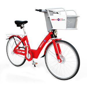 3D red bike cincinnati