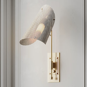 3D wall lamp blueprint lighting