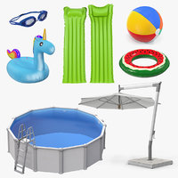 Swimming Pool and Accessories Collection 4