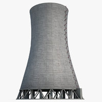 Nuclear Cooling Tower 3