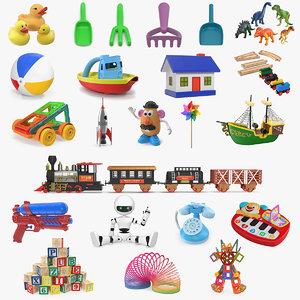 toys 5 3D model