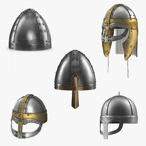 3D viking helmets 2