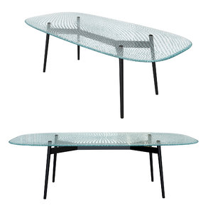 table fiam coral beach 3D model