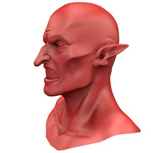 3D head teeth model