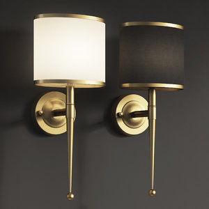 3D primo wall light gold