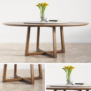3D concorde dinning table poliform