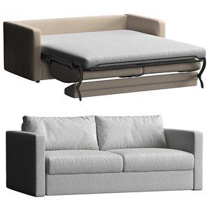 smart folding sofa jamni 3D model