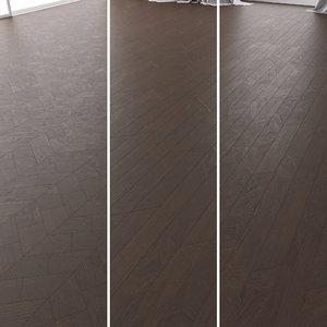 parquet oak marrone new 3D model