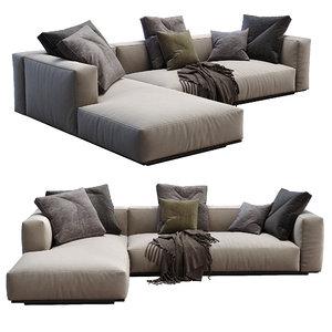 3D model flexform sofa grandemare