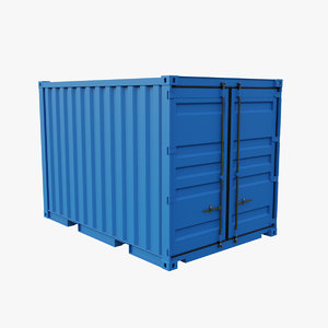 12ft container model