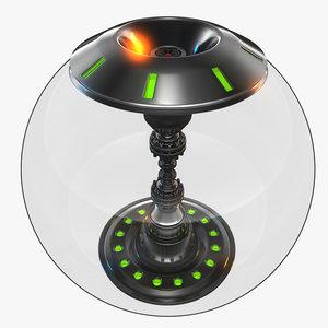 3D energy ball model