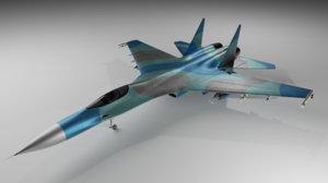 fighter jet model