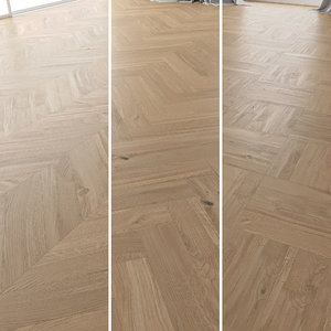 parquet oak molasses sanded 3D model
